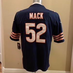 Shirts - Blue Khalil Mack #52 Chicago Bears Jersey!